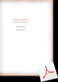 Little Carnage Regeln Deutsch